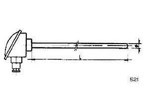 Sondas de temperatura ref.521