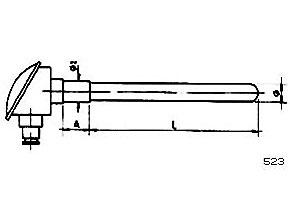 Sondas de temperatura ref.523