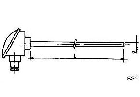 Sondas de temperatura ref.524