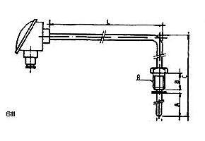 Sondas de temperatura ref.611