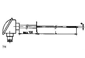 Sondas de temperatura ref.711